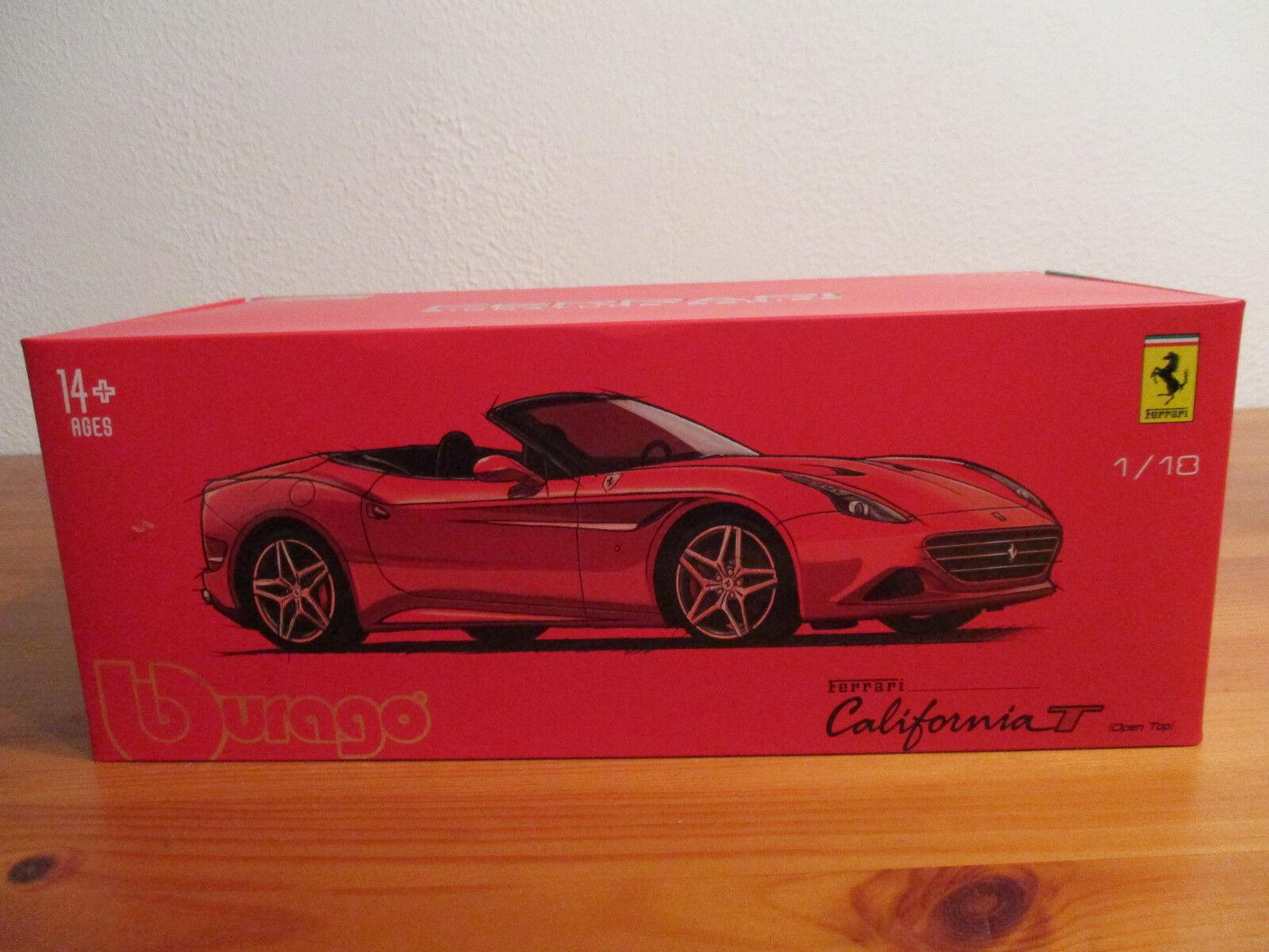 ( ( ( GO ) 1 18 Burago Série Signature Ferrari California T Cabriolet 83d91b