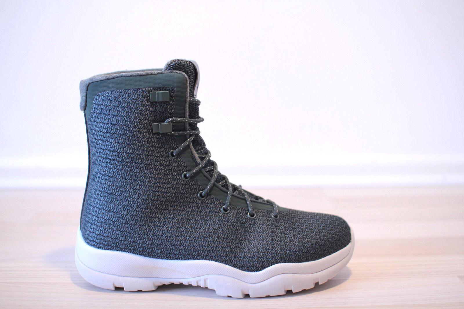 new arrival 95f0a 0b86f ... free shipping nike jordan future boot 41 winterstiefel grün weiß gr. 41  boot uk 7