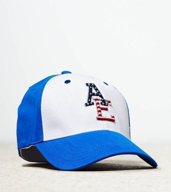 d01e19d2a03 American Eagle Outfitters AE Logo Choose Colour style Baseball Caps ...