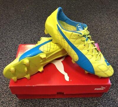 c8e91f8f713 PUMA evoSPEED 1.4 SL (Leather) FG (Firm Ground) Football Boots - Mens. 1 9