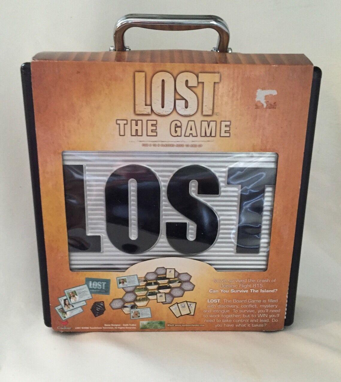 Série tv ont perdu Le Match en argent & étui Noir 2006 nouveau dans la boîte Board Game-HARD TO FIND