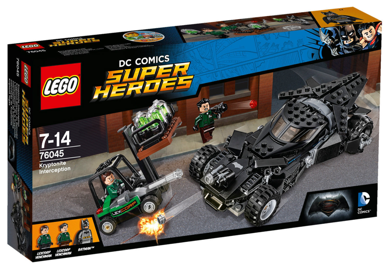 LEGO 76045 Super Hero Kryptonite Interception