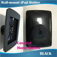Black Plastic Wall Mount Ipad Stand/ipad Holder For Apple Ipad 2, 3, 4 Or Air