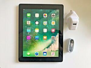 Détails sur Grade A Apple IPAD 4ème Génération 16go, Wi Fi, 9.7in Noir