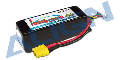 Align 6S1P 22.2V 1850mAh 50C HBP18501