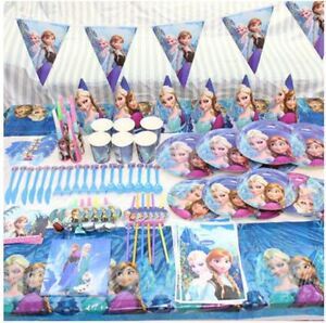 Normal Party Tableware Hat Banner Birthday Decoration Mickey Frozen on
