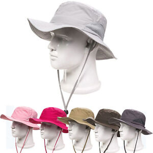 Boonie-Bucket-Hat-Fishing-Military-Hunting-Safari-Hiking-Outdoor-Men-Women-Cap