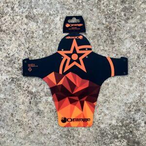 Front-MTB-Mudguard-RideGuard-PF1-Enduro-Guard-Mountain-Bike-Fender-Orange-Bikes