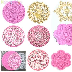 Lace-Silicone-Mold-Mould-Sugar-Craft-Fondant-Mat-Cake-Decorating-Baking-Tools