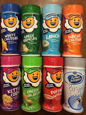 8 Kernel Season's Sampler seasons Potato Popcorn Seasoning 8 flavor sampler