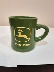 JOHN DEERE OFFICIALY LICENSED HEAVY DUTY DOUBLE SIDED COFFEE CUP