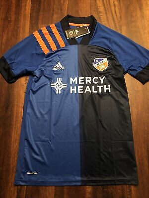 New Adidas Mens FC Cincinnati Soccer Jersey Size 3XL Blue Orange | eBay