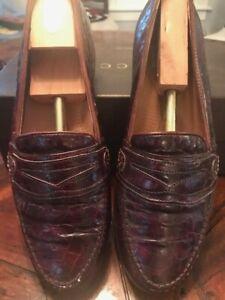 Alligator Shoes - Brown Size 11.5   eBay
