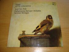 *RARE-UNIQUE* JANET SEE, Flute-VIVALDI Flute Concertos- McGEGAN /P.Baroque Orch.