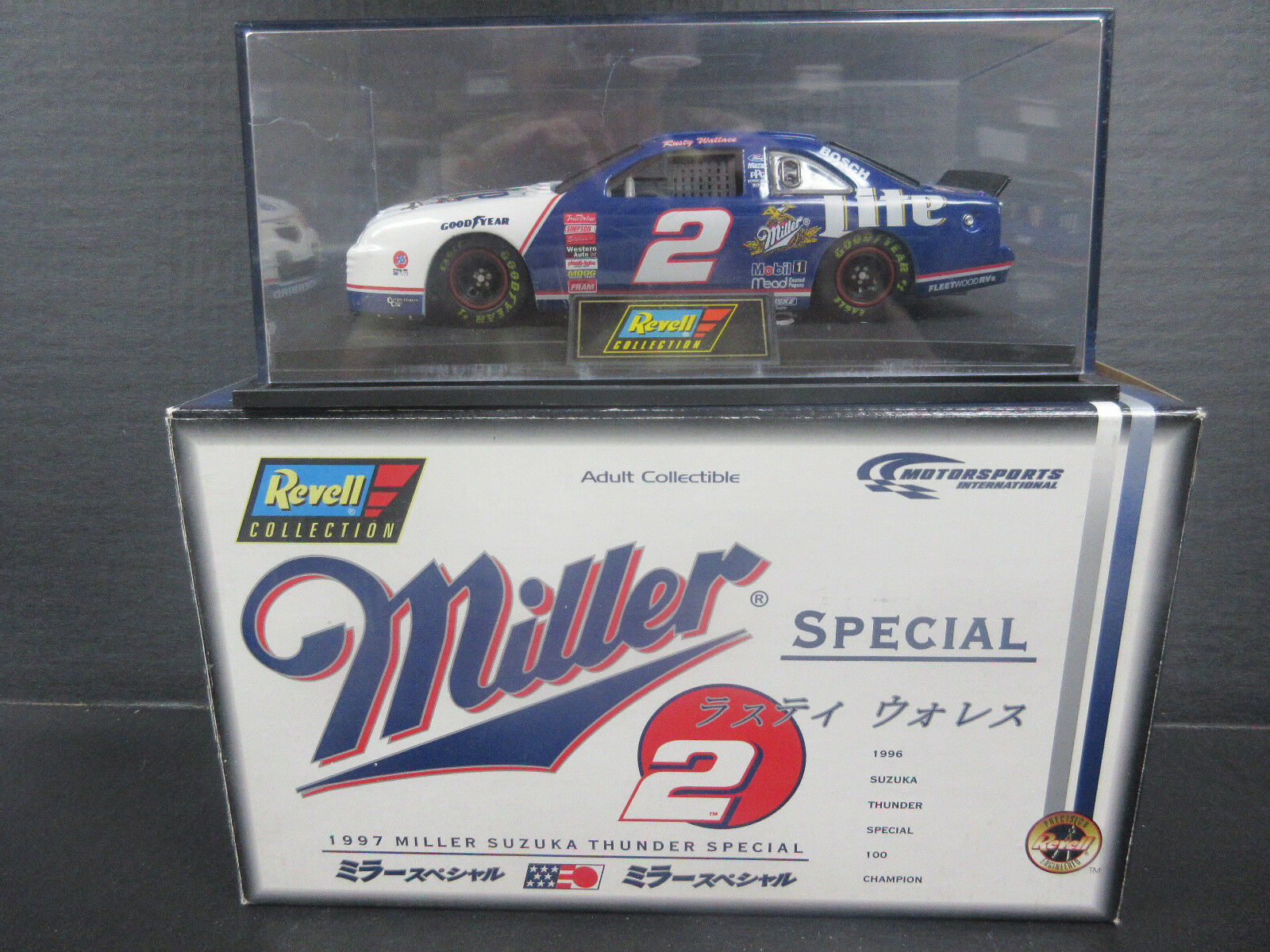 1997 REVELL  2 Miller 1 24th Scale NASCAR