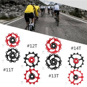 11-12-13T-14T-Mountain-Bike-Bicycle-Bearing-Jockey-Wheel-Rear-Derailleur-Pulleys