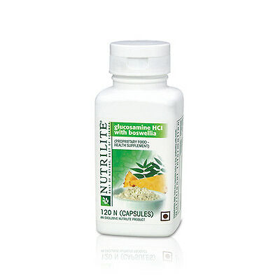 AMWAY NUTRILITE GLUCOSAMINE HCL WITH BOSWELLIA -expiry 07/2018