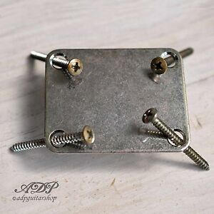 Plaque-Fixation-Manche-Relic-by-Gotoh-Guitar-Bass-Neck-Plate-Nickel-Aged-NBS-3