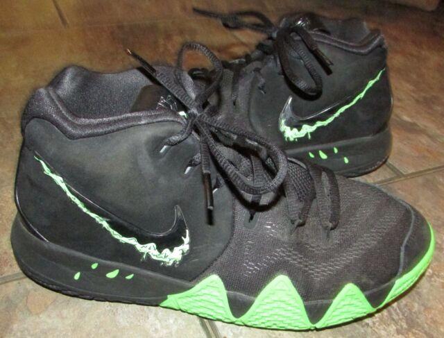 Nike Kyrie 4 Black Green Halloween Boys