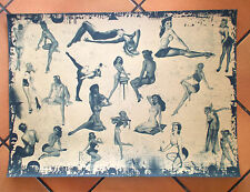 """Pin Up Poster Plakat Retro-Style Vintage """"20 Girls"""" Hot Fifties"""