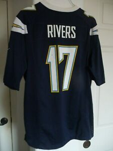 new concept 73278 f22b9 Details about San Diego Chargers Philip Rivers Jersey Youth XL Los Angeles  Chargers