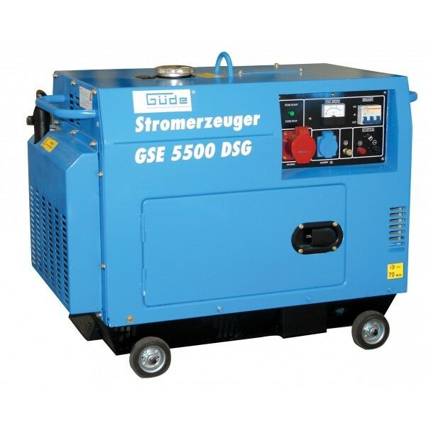 Gde GSE 5500 DSG Diesel Generator German High End BRAND