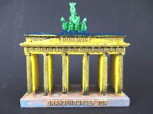 Berlin Porte De Brandebourg Xl 14 Cm Modèle Souvenir Germany-afficher Le Titre D'origine