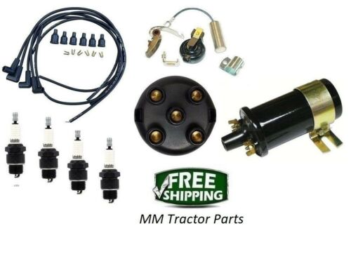 IGNITION TUNE UP KIT /& COIL IH FARMALL 100 130 140 200 230 240 300 330 340 350