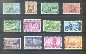 US-1953-Commemorative-Year-Set-with-12-Stamps-MNH