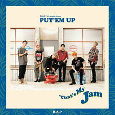 B.A.P BAP - PUT'EM UP (5th Single) + Folded Poster + Free Gift with Tracking no.