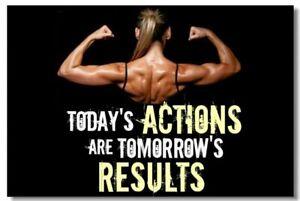 Detalles De Cartel Culturismo Para Hombres Mujeres Fitness Entrenamiento Comillas Motivacionales Fuente De Impresión De 026 Ver Título Original