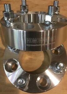 Front Wheel Spacers Yamaha Blaster 200 1988-2006 Billet HDM NEW 3 INCH TOTAL