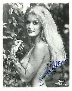 JUNE-WILKINSON-HAND-SIGNED-8x10-PHOTO-COA-SEXY-BLONDE-BOMBSHELL