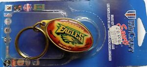 Wincraft SPORTS Brass Key Ring Eagles NFL Keyring