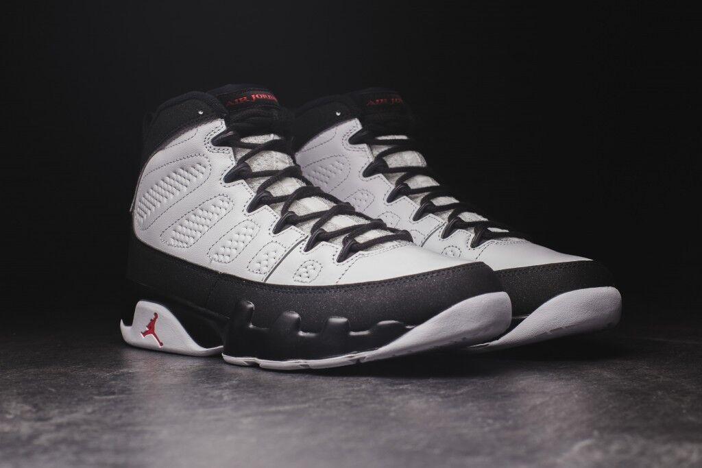 Nike Air Jordan 9 Retro Space Jam White Red Black 302370-112 Size 10