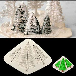 3D-Weihnachtsbaum-Silikonform-Giessform-Kerzen-Seifenform-Betongiessen-Hand-Made