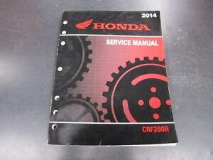 Details about 2014 Honda CRF250R Service Shop Manual Repair Book CRF250 CRF  250R 14
