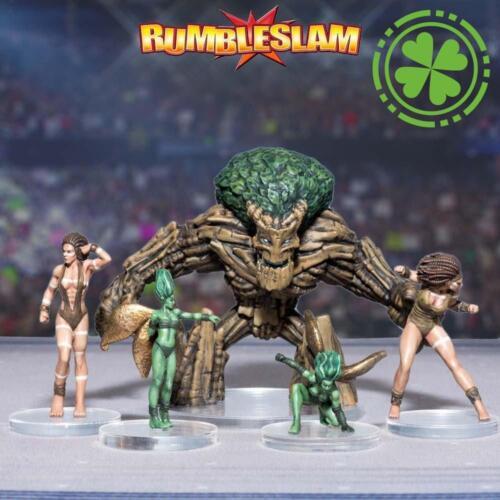 Rumbleslam BNIB Timber Fists