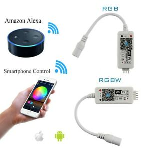 Smart Wifi Led Rgb Rgbw Strip Musik Controller Steuerung Fur Alexa