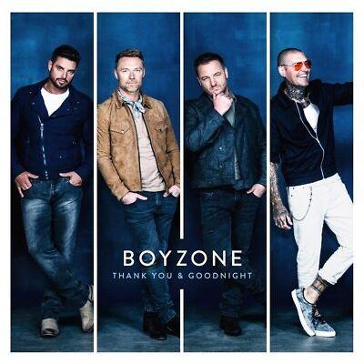 Thank You & Goodnight - Boyzone (Album) [CD]