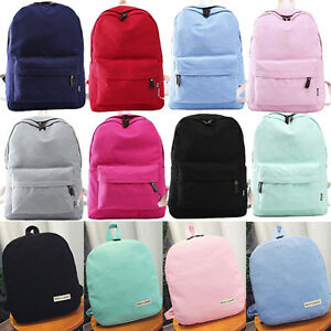 UK-Fashion-Women-Ladies-Backpack-Casual-Travel-Satchel-Rucksack-Kids-School-Bags