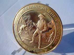 Details about +1817 Erie Canal - Franklin Mint Commemorative Solid Bronze  Medal