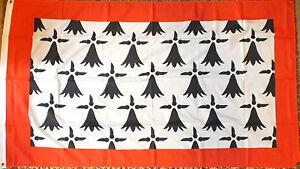 Limousin-France-Flag-5x3-French-Region-Francais-Heraldic-Heraldry-Medieval-bn