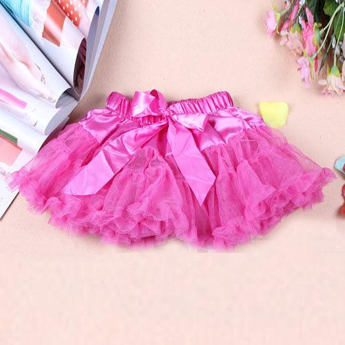 Girls Multilist Pettiskirt Fluffy Skirt Dress Tutu Ballet Petti Party Dancewear