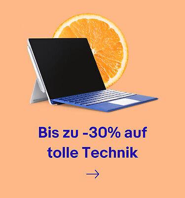 Bis zu -30% auf tolle Technik