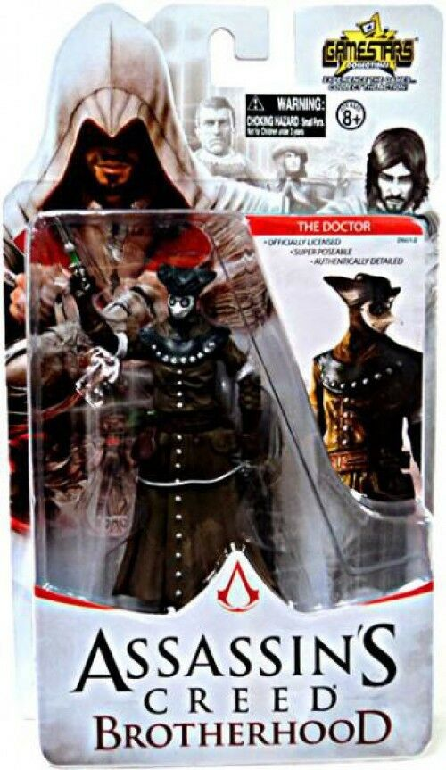 Assassin 's creed brotherhood gamestars der arzt action - figur
