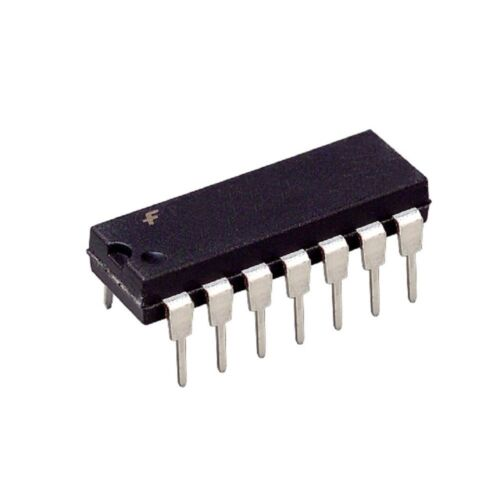 New IC 5PCS Fairchild MM74HCT08N 74HCT08N 74HCT08 Quad 2-Input AND Gate