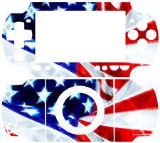 USA Flag Arts SKIN DECAL STICKER COVER 4 PSP 2000 SLIM