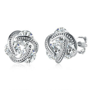 3-44-CTTW-Halo-11mm-Stud-Earrings-with-Swarovski-Elements-in-White-Gold-Plating