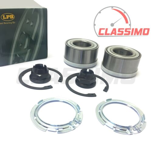 all models excl RS MODUS RENAULT CLIO Mk 3 Front Wheel Bearing Kit Pair
